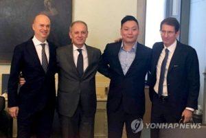 이탈리아 축구단 AC밀란, 중국에 매각 완료